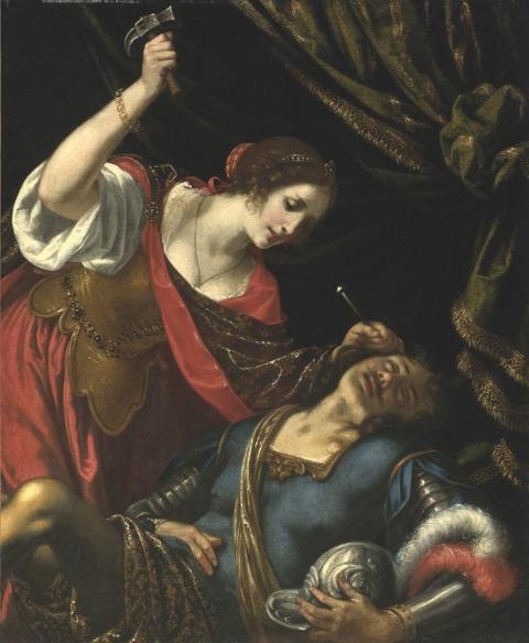 Jacopo Vignali Jael and Sisera