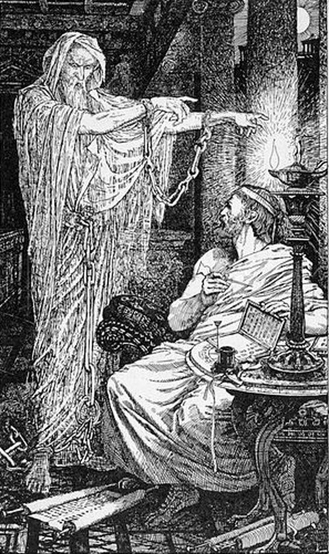 Athenodorus and the Ghost, by Henry Justice Ford, 1900