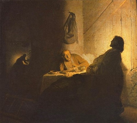The Supper at Emmaus 1629