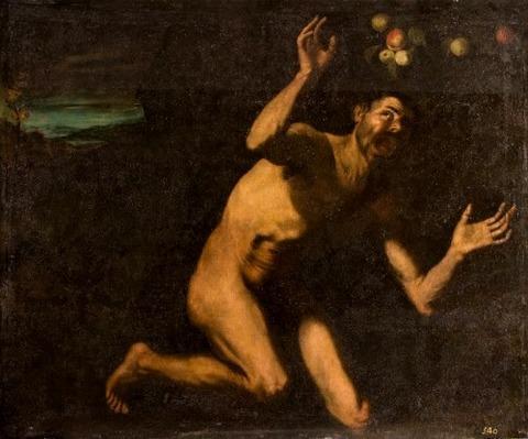 José de Ribera - Tántalo (serie de las Furias)