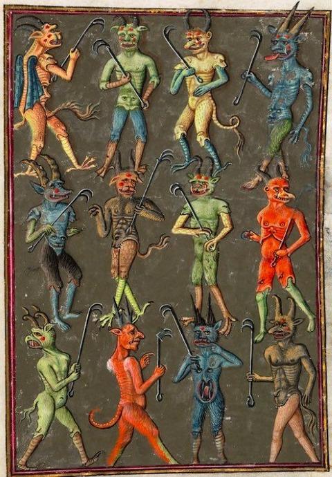 french manuscript Livre de la Vigne nostre Seigneur 1450-70