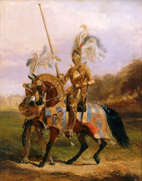 Lord Eglinton Lord Tournament Edward Henry Corbould 1840