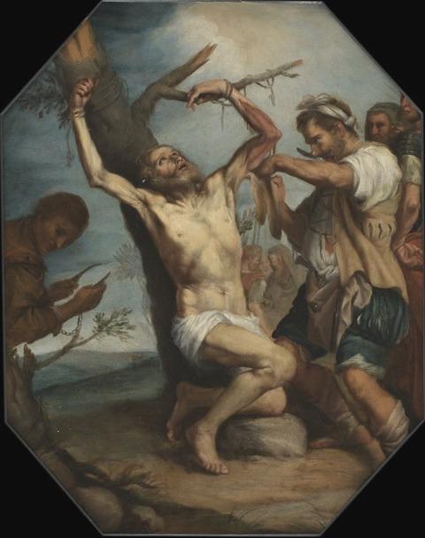 Martyrdom of Saint Bartholomew (unknown artist, 17th