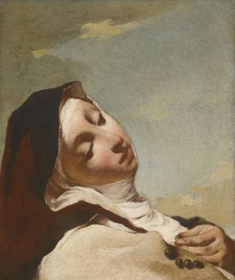 Giovanni Battista Piazzetta St. Teresa in Ecstasy