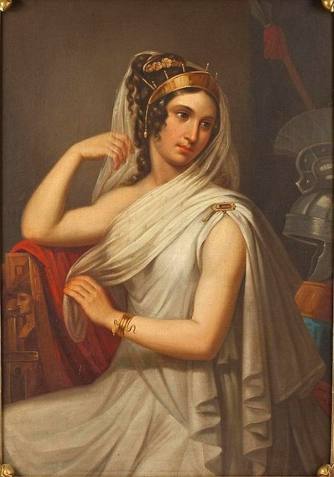 Helen of Troy by French School