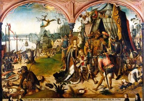 Maestro de la Leyenda de Santa Úrsula de Brujas 1492-96