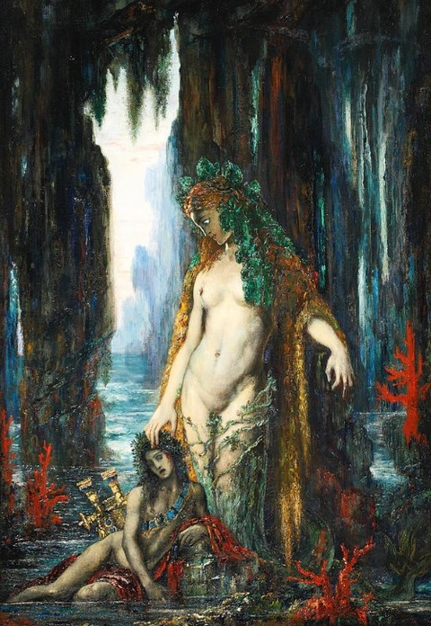 The Poet And The Siren by Gustave Moreau