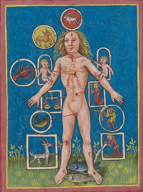 Nürnberg c 1472. A treatise on medical astrology