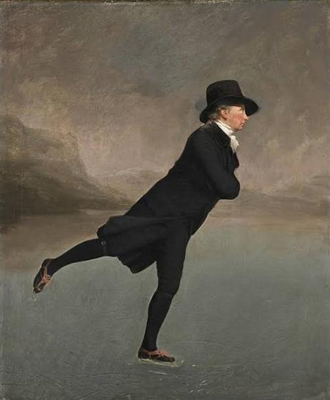 "The Skating Minister"" by Henry Raeburn 1790"