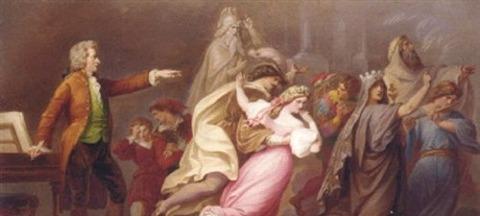 Don Giovanni and magic flute KARL JOSEPH GEIGER -