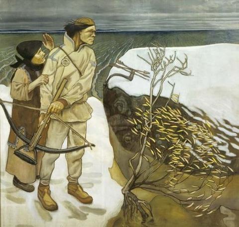 Akseli Gallen-Kallela  Joukahaisen kosto