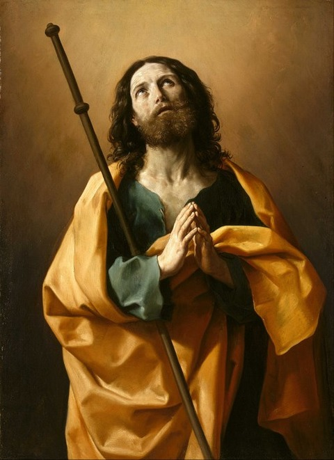 Saint James the Greater by Guido Reni 1636-38