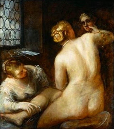 Toilet Of Venus  after Jacopo Tintoretto