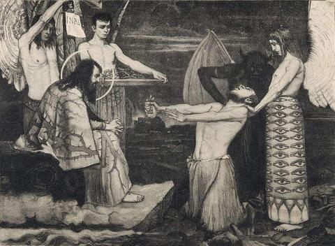 A Reunion, 1900