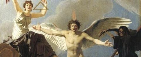 Jean-Baptiste Regnault France  Liberty and Death1795 -