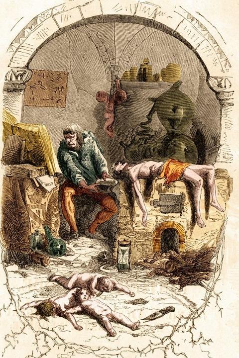 Gilles De Rais Jean Antoine Valentin Foulquier 1862