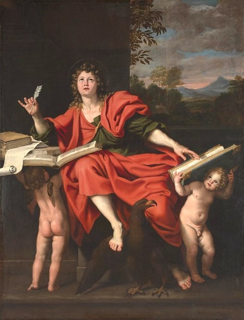 St John the Evangelist Domenichino  1620