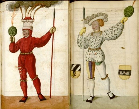 Radical Fashion from the Schembart Carnival (1590)8