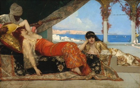 The Favorite Of The Emir  Jean Joseph Benjamin Constant