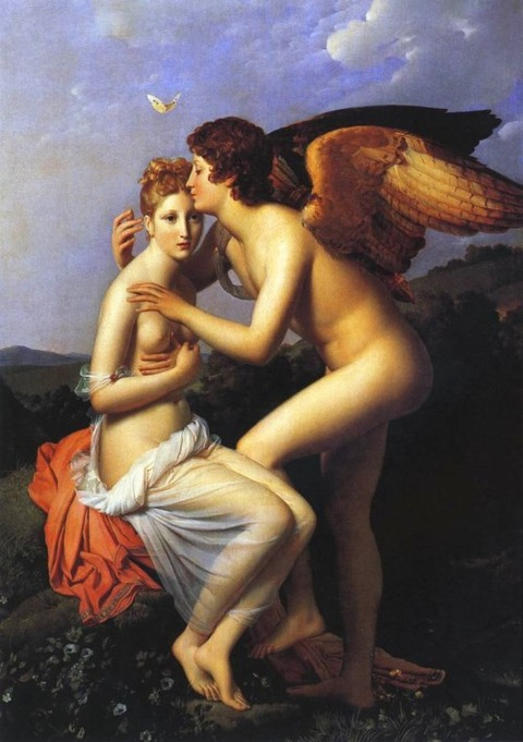 Cupid and Psyche 1798  Francis Gerard