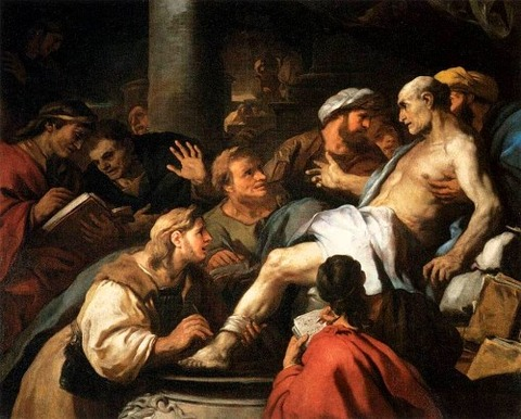 Luca Giordano - The Death of Seneca 1684-85
