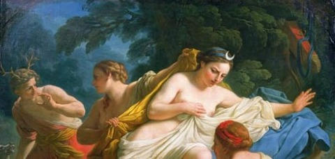 Diana and Actaeon (Louis Jean François Lagrenée -