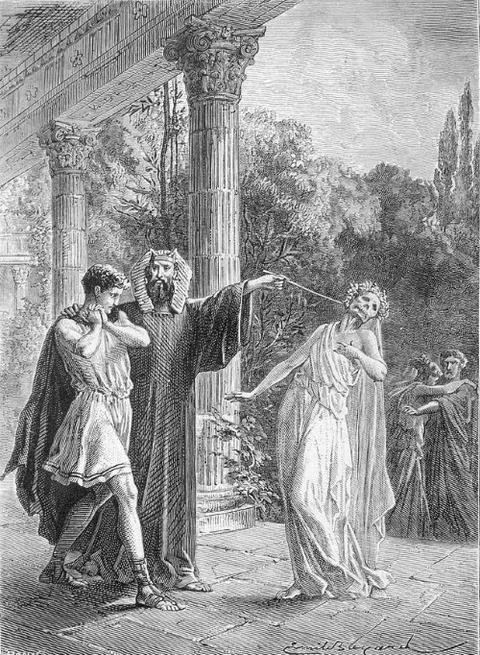 Apollonius Tyana reveals Menippus of Corinth wife evil spirit