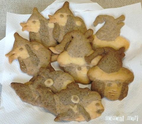 怪物クッキー完成 (2)