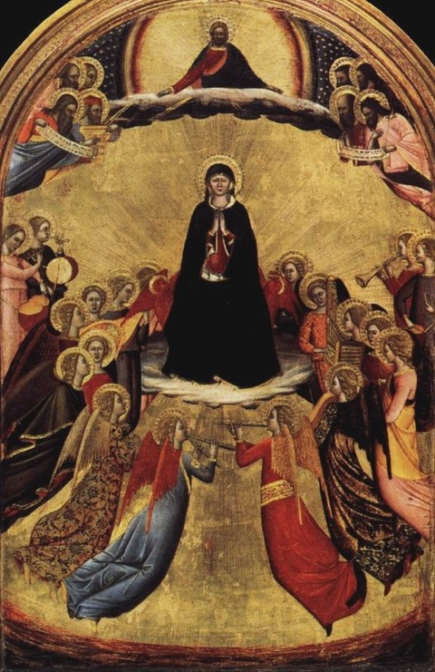 15th  unknown  Assumption of the Virgin