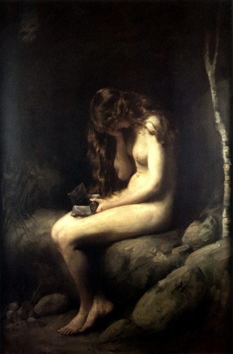 "Pandora"" (1908) by Thomas Benjamin Kennington"