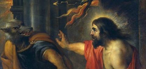 Jan Cossiers - Júpiter y Licaón 1600-71 -