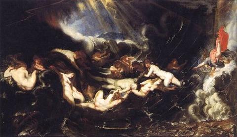 Peter Paul Rubens - Hero and Leander 1605