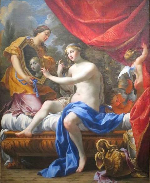 Simon Vouet - Toilet of Venus 1628-39