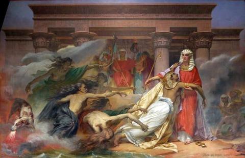 Egypt saved by Joseph. Abel de Pujol 1827