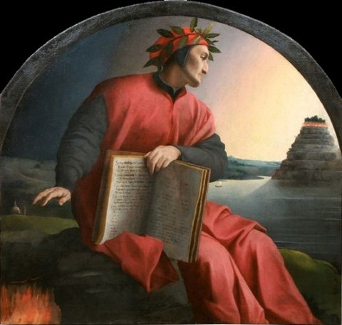 Dante Alighieri by Bronzino 1532-1533