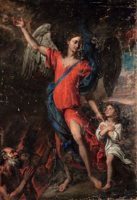 Giovanni Battista Merano, The Guardian Angel, 17th century