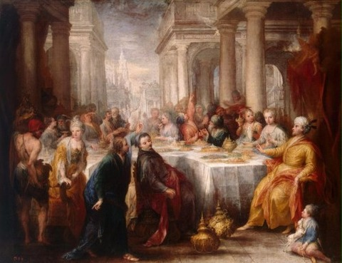 Feast of Belshazzar  Celesti Andrea