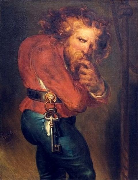 Quasimodo by Antoine Wiertz 1839