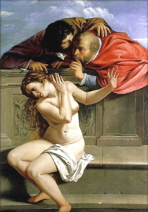 Susanna and the Elders 1610 Artemisia Gentileschi