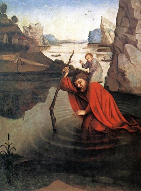 saint-christopher  Konrad Witz