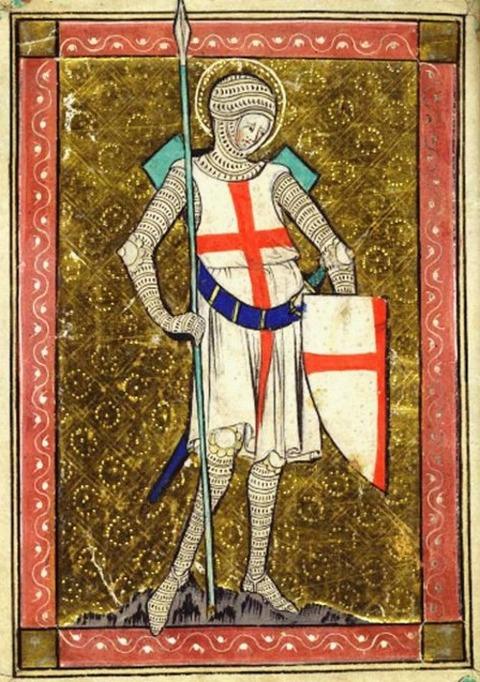 12th century Knight Templar Idade