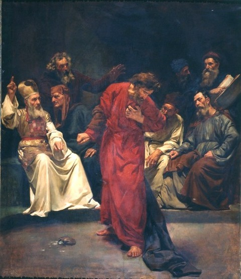 Simó Gómez - The Repentance of Judas