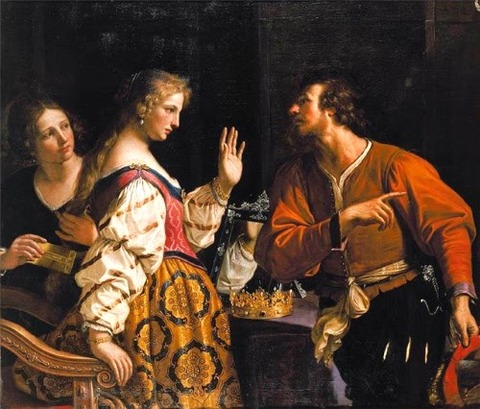 Guercino (1591–1666) Semiramis Called to Arms. 1645