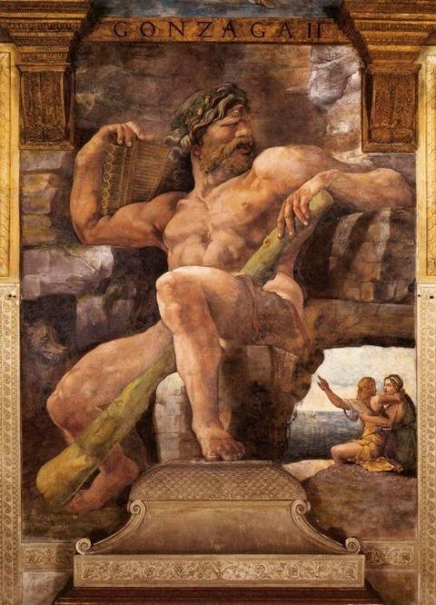 Polyphemus Giulio Romano, 1526-1528