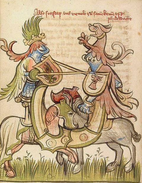duel of Sigstap Rienolt, Rosengarten zu Worms 1420