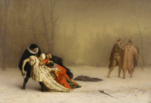 Jean-Léon_Gérôme  The_Duel_After_the_Masquerade 1857-59