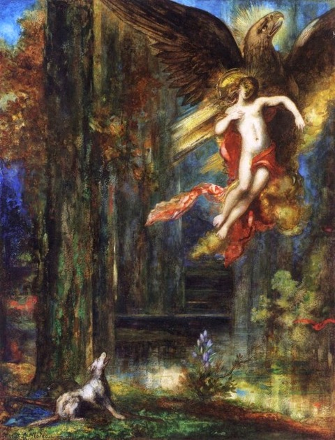 Gustave Moreau  The Abduction of Ganymede 1886