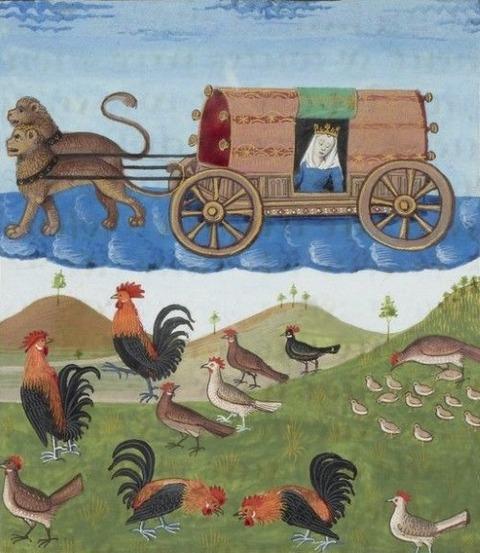 Cybèle -- BNF, Manuscrits, français
