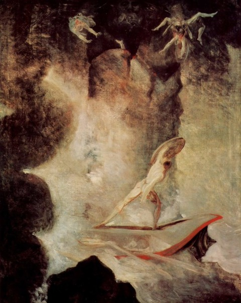 Henry Fuseli  Odysseus   Scylla and Charybdis 1794