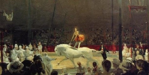 Circus by George Bellows, 1912 -